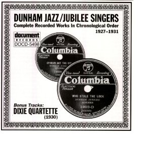 Dunham Jazz and Jubilee SIngers