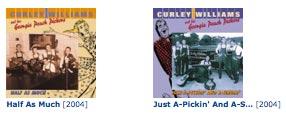 curley williams albums