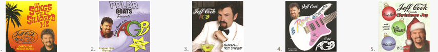 jeff cook albums