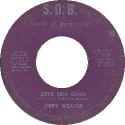 jerry weaver love sick child 45