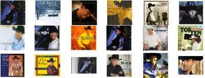landon taylor clay walker albums