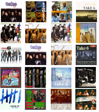 take 6 albums