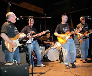 the bassmen