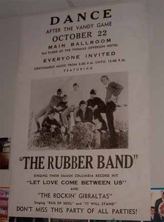 rubberband concert poster