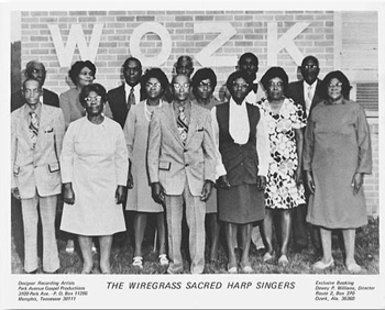 wiregrass sacred harp singers promo photo